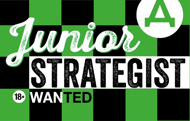 Junior Strategist 18+ wanted!