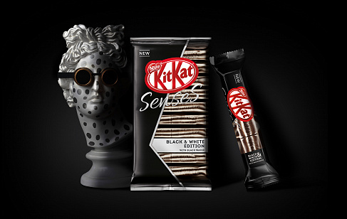 KitKat® Senses® Black and White