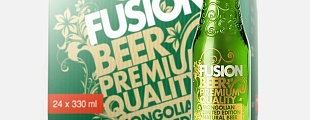 The Dieline: Fusion Beer